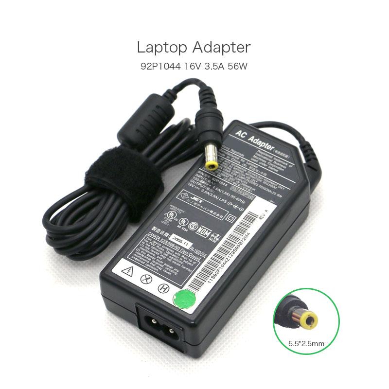 16 V 3.5A 56 W 08K8210 92P1044 PA-1560-01IL AC Adaptateur pour IBM X32 X22 X23 X24 X30 X31 X4 X41 X41T T20 T21 T22 T23 T30 ordinateur portable