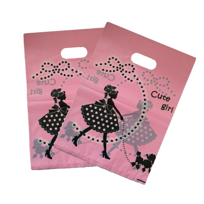 Hot Discount #de0d 50pcslot 25x35cm Cute Girl Print Pink
