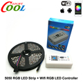 RGB LED Strip 5050 5m + Wifi LED RGB Controller DC12V 60LED/m RGB Flexible LED Light Sets.