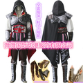 Assassin's Creed II Cosplay Costume Assassins Creed Ezio Costume Men clothes sets