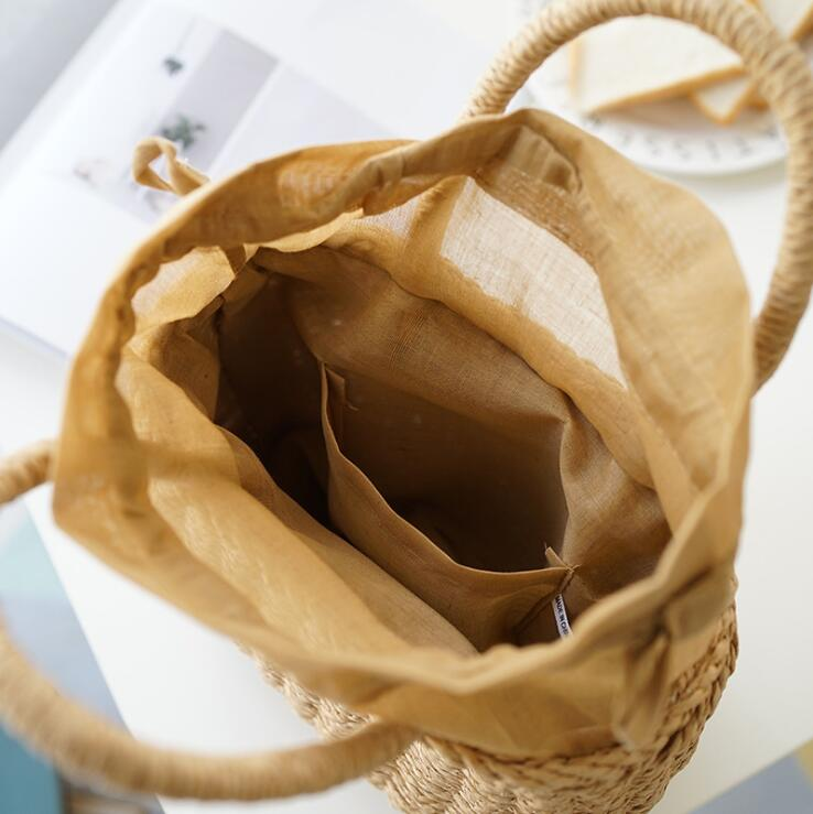 Berömda Designer Ladies Vävda Knitting Messenger Crossbody Väskor - Handväskor - Foto 5