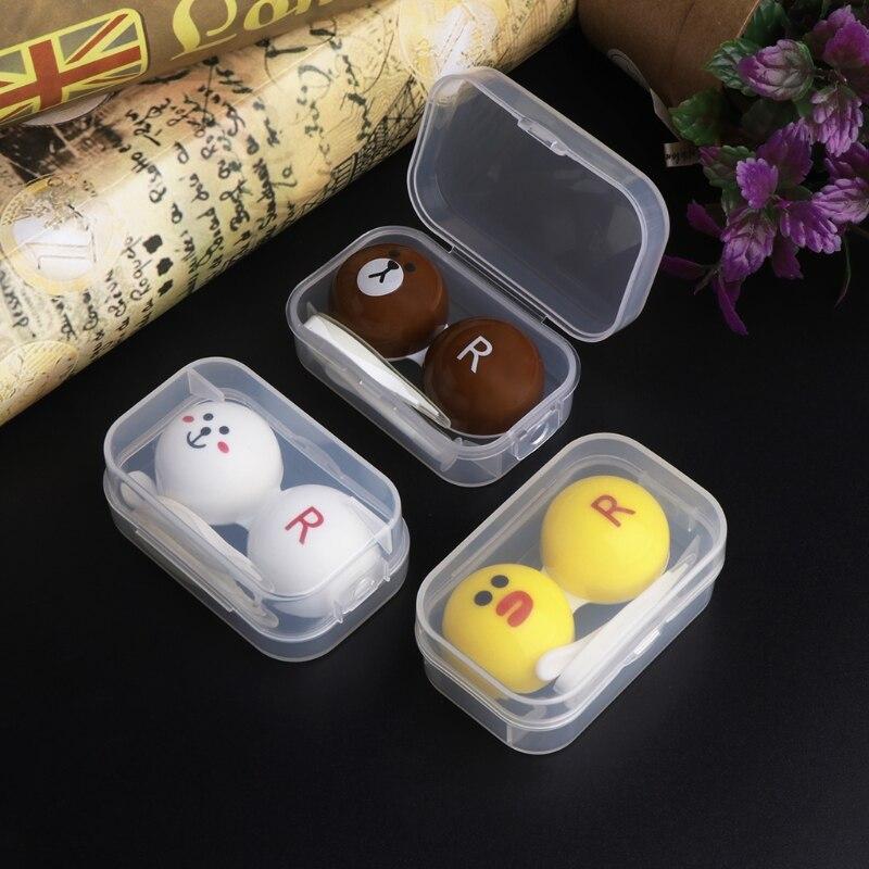 Travel Portable Transparent Nursing Contact Lenses Liquid Bottle Accessories hot sale fr024