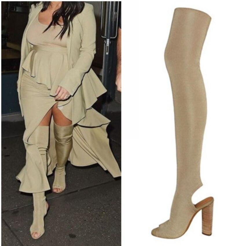 Popular Thigh High Boots Summer Boots-Buy Cheap Thigh High Boots ...