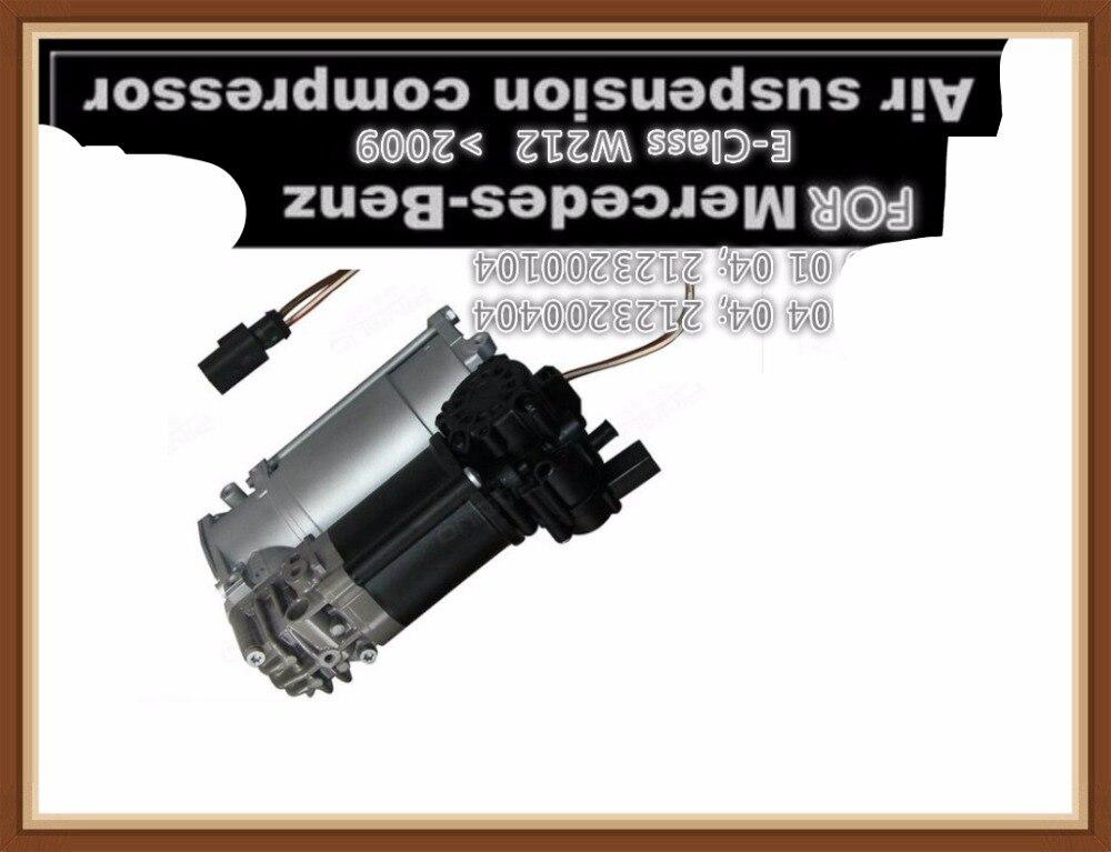 Для Mercedes подвеска компрессоры насоса цена используется для Benz W212 Средства ухода за кожей комплект oem A212 320 01 04 A212 320 0404