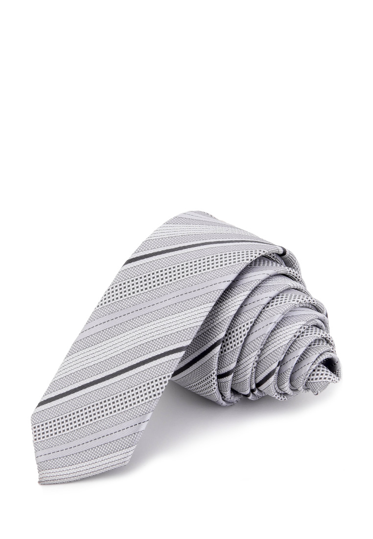 [Available from 10.11] Bow tie male CASINO Casino poly 5 gray 407 5 01 Gray