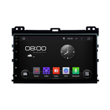 9 inch Android Quad Core 1024*600 Fit TOYOTA Prado 2002 2003 2004 2005 2006 2007 2008 2009 Car DVD Navigation GPS Radio