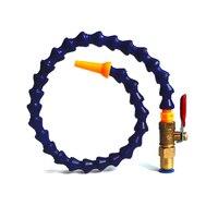 Flessibile Olio Del Refrigerante Tubo flessibile Blu Arancione 500mm per fresatrice cnc con interruttore