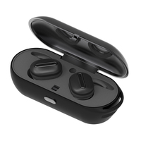 True Wireless Sports headset Stereo Handsfree Invisible Mini Bluetooth Earphone Headset with charge Box For Android IOS Pho