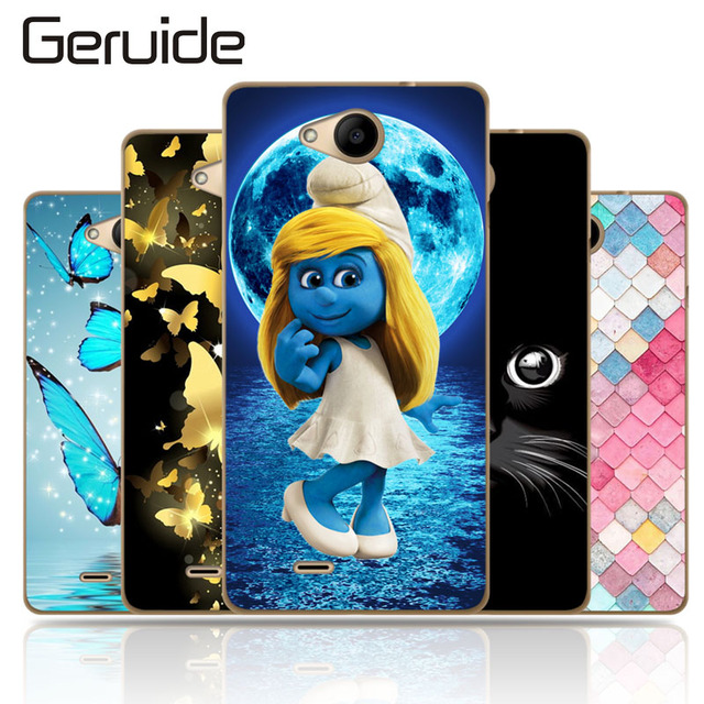 "Geruide Case For ZTE Blade GF3 T320 4.5"" Cover, Soft TPU Silicone Back Cover Case For ZTE GF 3 GF3 / T 320 Phone Case Cover"