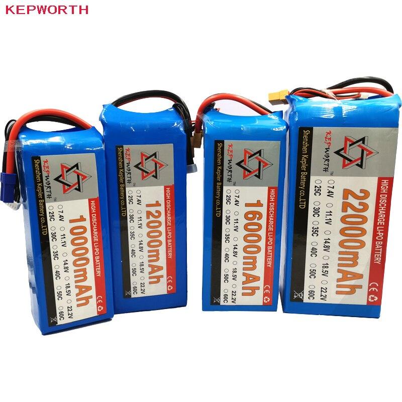 Batería Lipo 2S 7,4 V 10000 12000 16000 22000mAh para helicóptero Drone, Avión de juguete RC li-po, batería de alta capacidad ISDT Q8 MAX 1000W 30A / Q8 500W 20A 2-8S / Q6 Nano 200W 8A 1-6S cargador de equilibrio de batería para Lilon LiPo LiHV NiMH Pb RC modelos