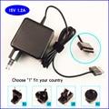 15 v 1.2a netbook adaptador ac/carregador de bateria para asus transformer eee pad tf201 tf300 tf700 tf300t sl101 tf101 tr101 ad827m