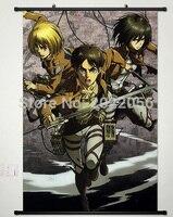 Free Shipping Anime Manga Shingeki no Kyojin Attack on Titan  Wall Scroll Painting 60x90cm Wall Picture Wallpaper 005