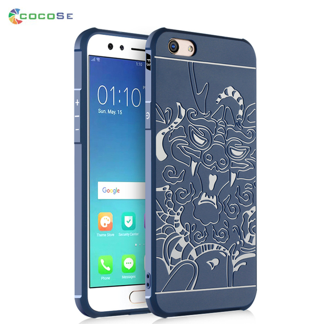 wholesale dealer b7ea5 f91fd US $7.0 |COCOSE Top Quality Case for OPPO F3 F3 Plus Case Luxury Dragon 3D  Relief Back Cover Funda Shockproof for F3 F3 Plus-in Fitted Cases from ...