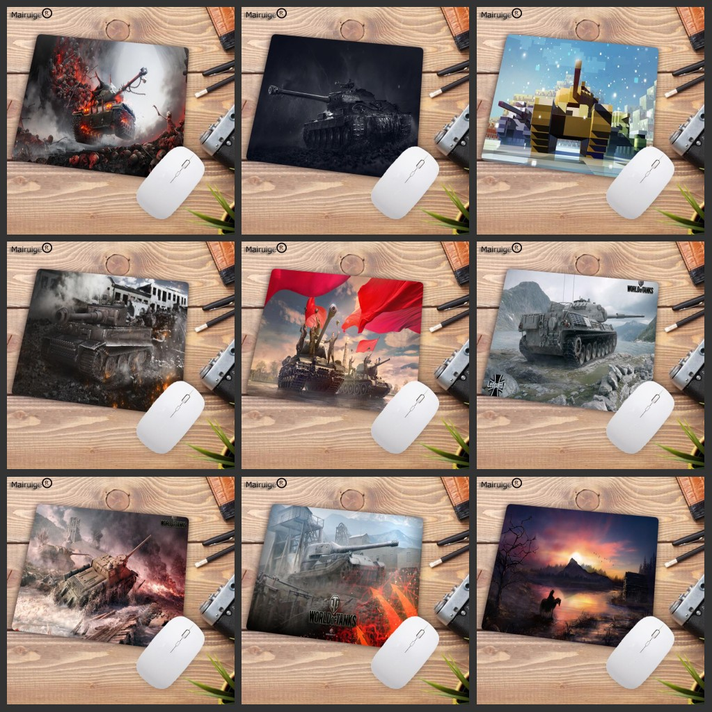 Mairuige Big Promotion World Of Tanks Customized MousePads Computer Laptop Anime Mouse Mat Gaming Pad Mouse Gamer 220X180X2MM
