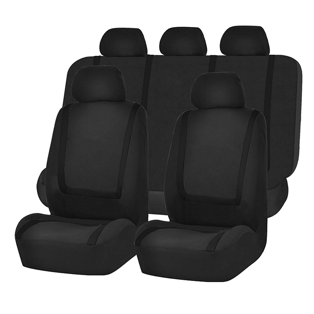 <font><b>1</b></font> Set <font><b>2</b></font>/4/9pcs Car Seat Covers Universal High Quality Dustproof Anti-dirty Automobiles Seats Covers Fit For Most Car SUV Or Van image