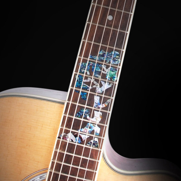 Guitar Inlay Stickers Tree of Life Guitar Fretboard Decals For Acoustic  Electric Guitarra Fret Neck New-in Guitar Parts & Accessories from Sports  ...