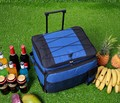 Large Rolling Trolley Insulated Cooler Picnic Bag Wheel Thermal Ice Picnic Bag