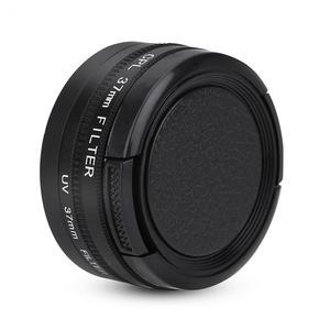 Image 2 - Bộ Lọc Ống Kính 37Mm CPL + UV Cho YI 4K Máy Camera Thể Thao Ống Kính Nắp Bảo Vệ Adapter Ring