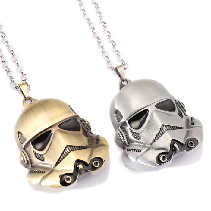 ộ_ộ ༽Nuevo Star Wars la fuerza despierta collar Storm Trooper casco ...