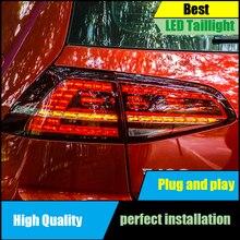 Car Styling For Volkswagen Golf 7 MK7 2013 2014 2015 2016 Taillight Dynamic Turn Signal Tail Light Rear Lamp+Brake+Park+Signal стоимость