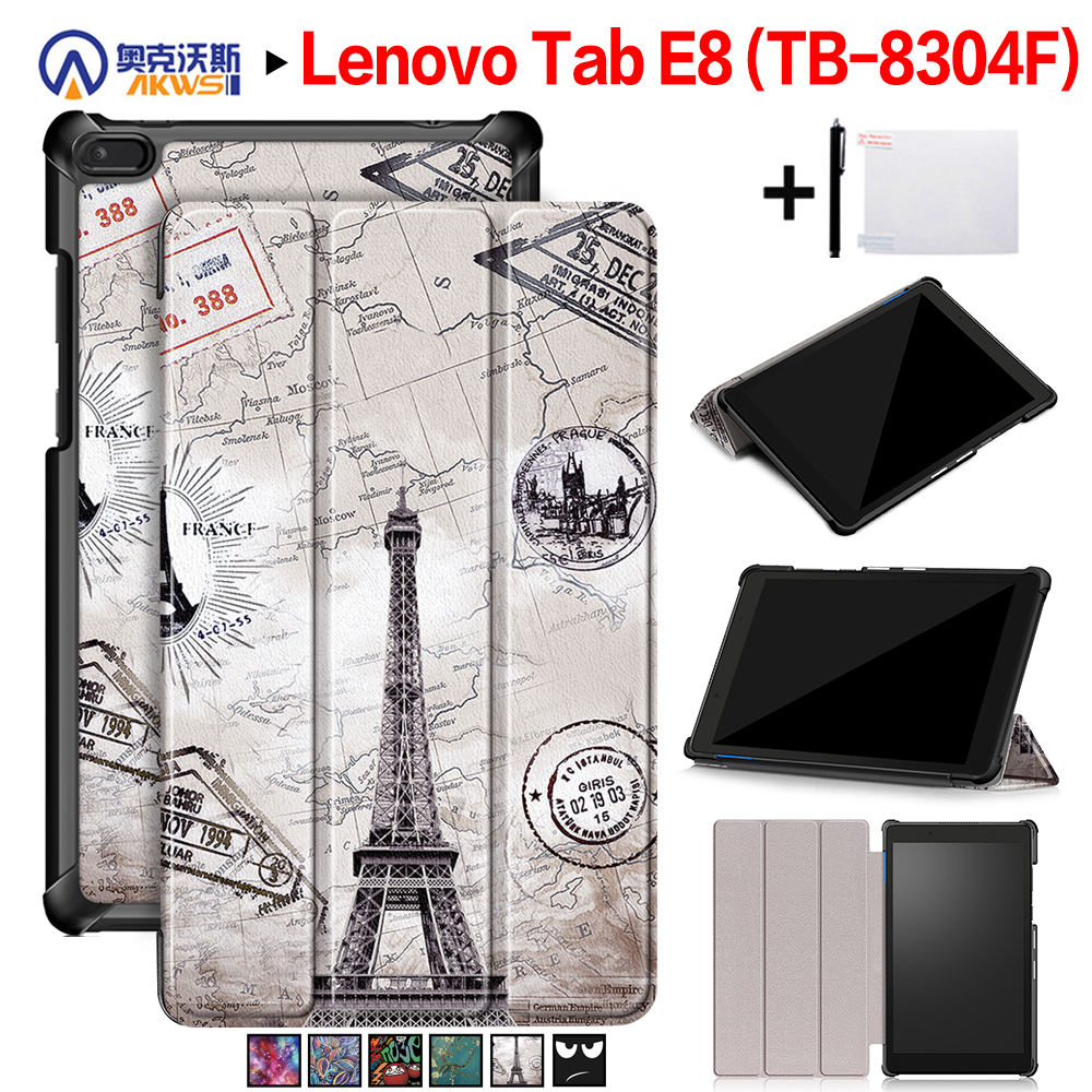 Walkers Cover Case for Lenovo TAB E8 Tablet TB-8304 Slim Mag
