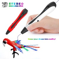 3D printing pen 1.75mm 3d drawing pens with Filament LED Display for the Kids gifts DIY 3D Magic Pen Education Tools|3D Pens| |  -