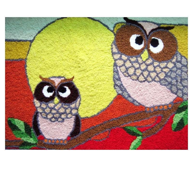 Exceptional Handmade Owl Rug For Living Room/Bathroom/Door Machine Washable Rugs Floor  Mat Rug