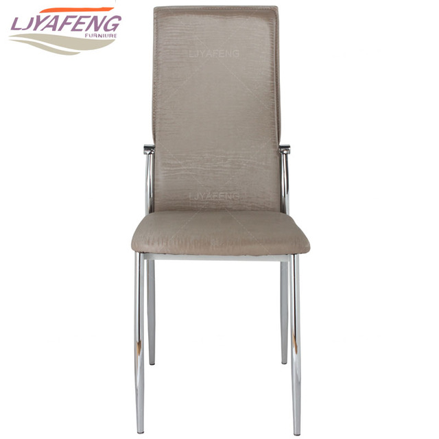 9061 1 the artificial leather kitchen chair and iron chair are