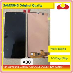 Image 4 - 10Pcs/lot Original For Samsung Galaxy A30 A305 A305F SM A305F LCD Display With Touch Screen Digitizer Panel Pantalla Complete