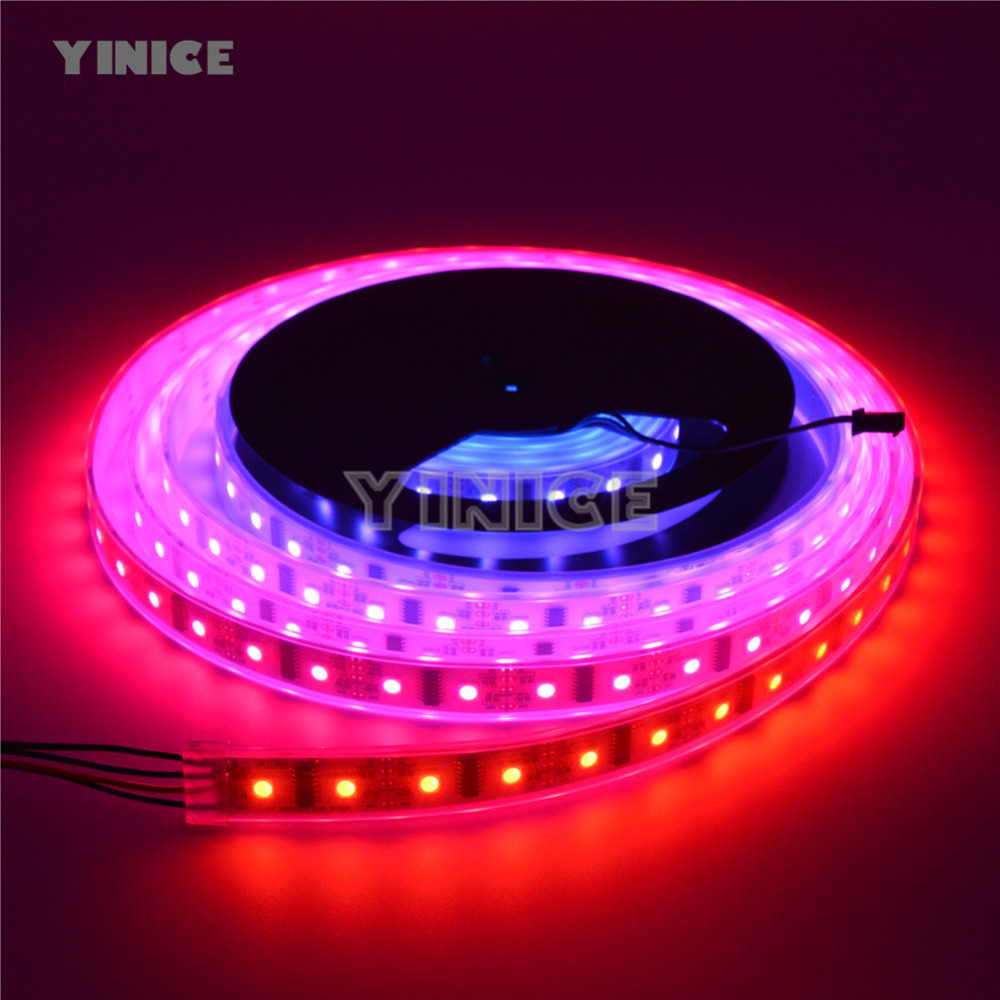 LPD8806 8806 Pixel LED Strip DC5V 32leds/m,48leds/m,52leds/m,60leds/m optional Waterproof or Non-Waterproof RGB Digital 1M 5M купить в Москве 2019