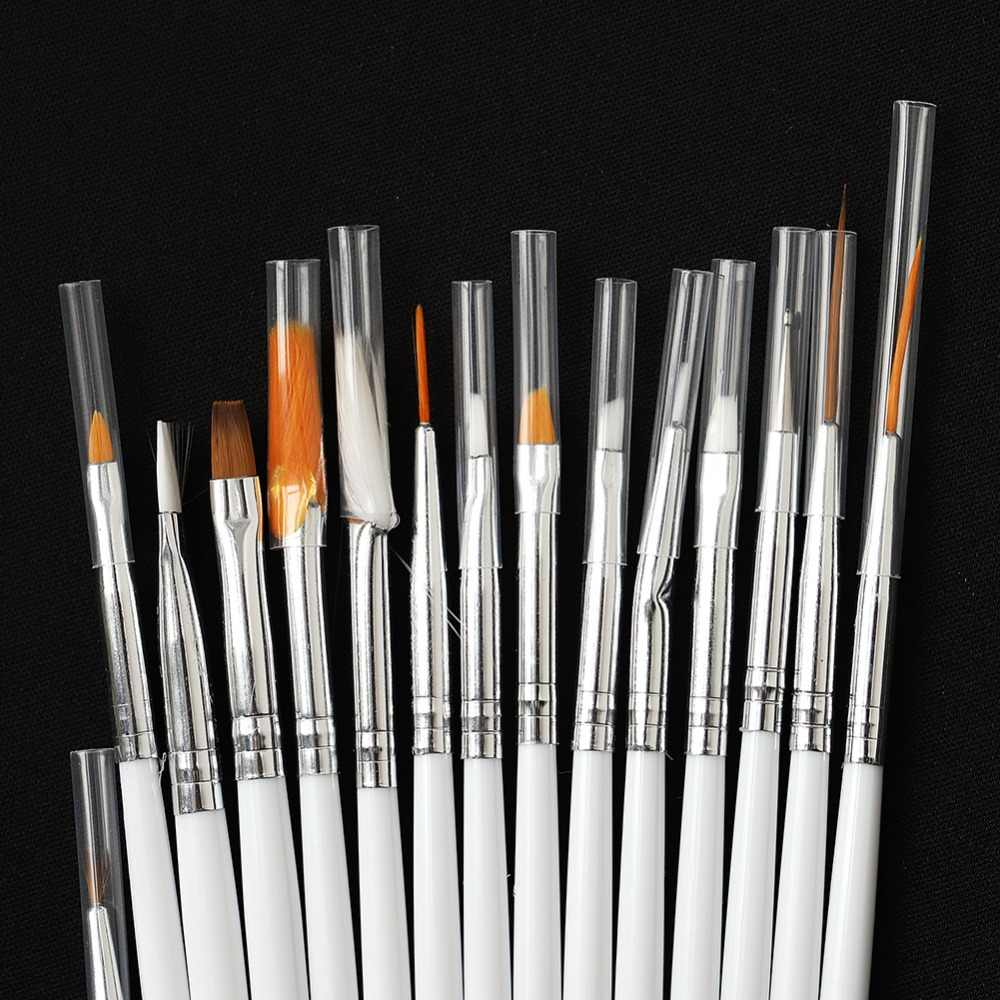 Painting Tinting Brushes Tools for Plasticine Paint Brushes Polymer Clay & Pottery Modeling Sculpture Tool Nail Art Brushes