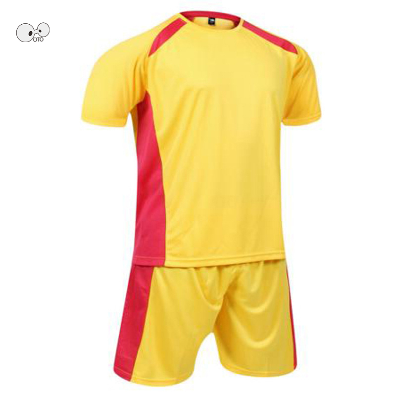 DIY Print Brand New Football Kits Men Soccer Set Blank Training Jerseys College Futsal W ...