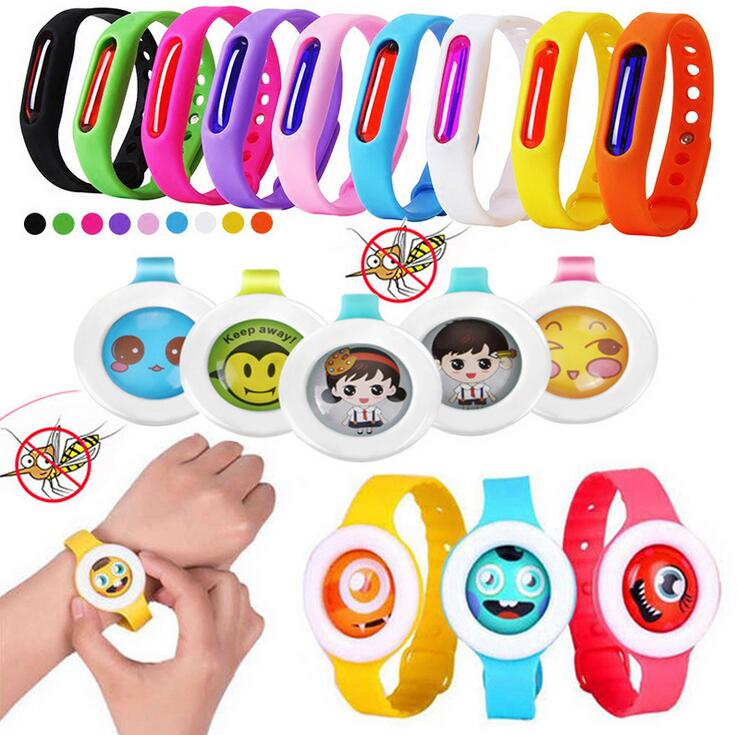 Mosquito Killer Silicone Wristband Summer Mosquito Repellent Bracelet Anti Mosquito Band Children Insect Killer Dropshipping