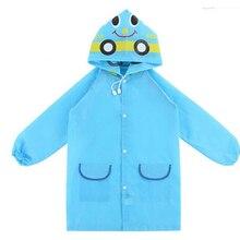 Waterproof  Kids Rain Coat For children Raincoat Rainwear Rainsuit Animal Style Car Rabbit Duck Frog Strawberries