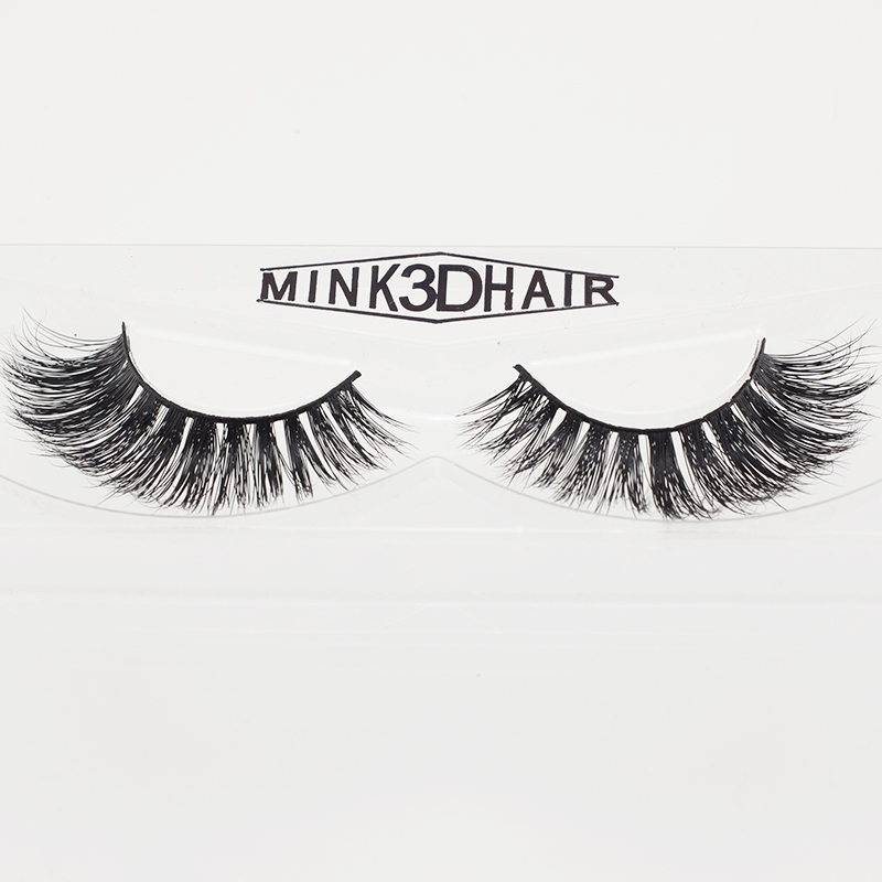 1 Pair Real 3D Mink Lashes Soft Natural False Eyelashes ...