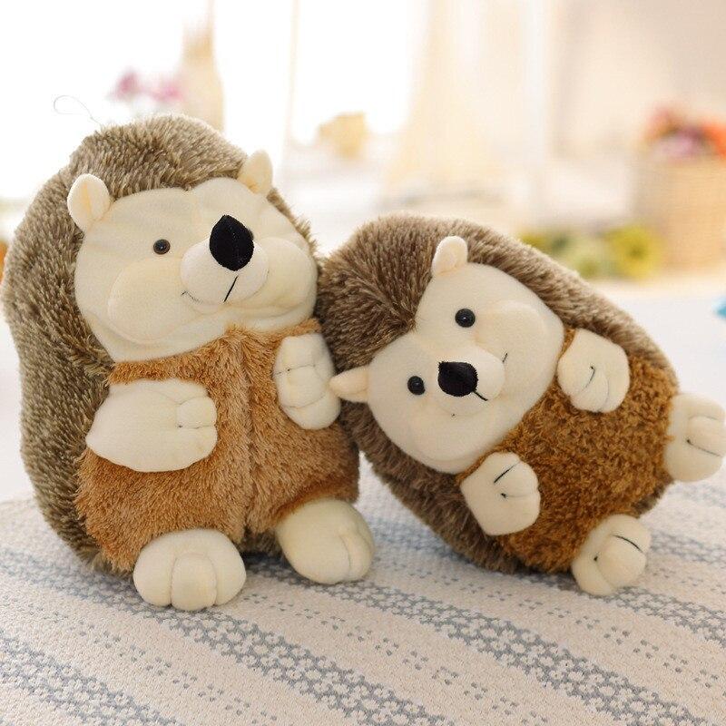 Hedgehog Animal Soft Hedgehog Animal Doll Stuffed Plush Toy Child Kids Home Kawaii Kids Stuffed Toys For Gift Children Dolls