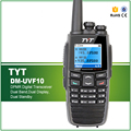 Цифровой DPMR walkie talkie TYT DM-UVF10 с 5 Вт Power PC Программируемый