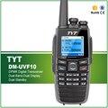 Digital DPMR walkie talkie TYT DM-UVF10 com 5 W Power PC Programável