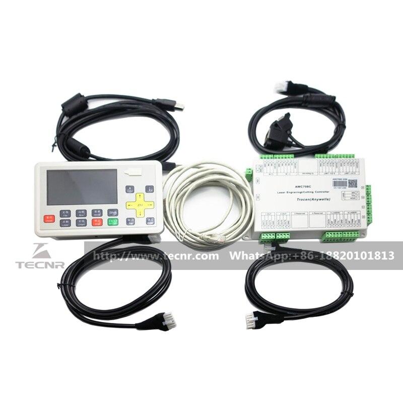 CO2 lézer DSP vezérlő rendszer Trocen AWC708C Lite lézervágó - Szerszámgépek és tartozékok - Fénykép 2