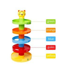 Multi Colors Plates Pyramid Ba