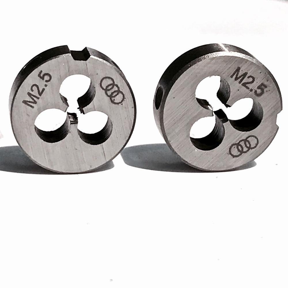Metric Left Hand Die Threading Tools M2.5 x 0.45mm 1pc