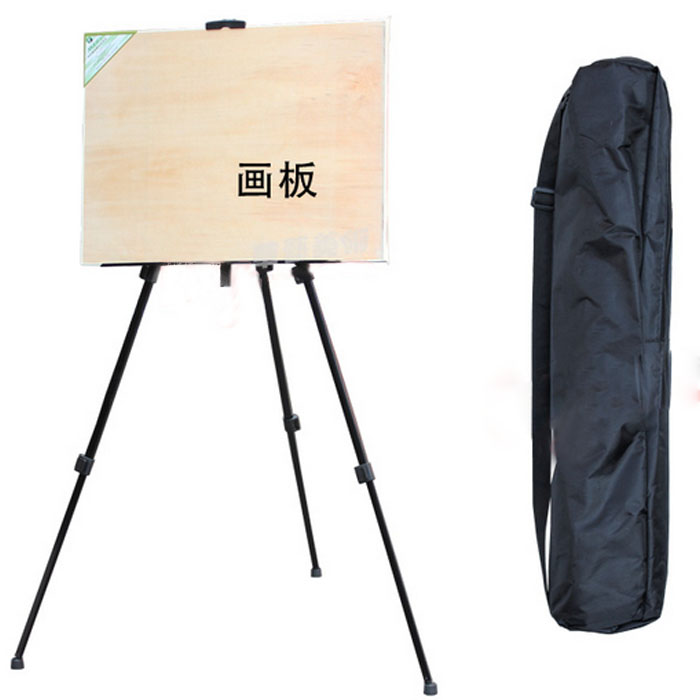 lift stand sketch easel advertising display rack iron tripod folding