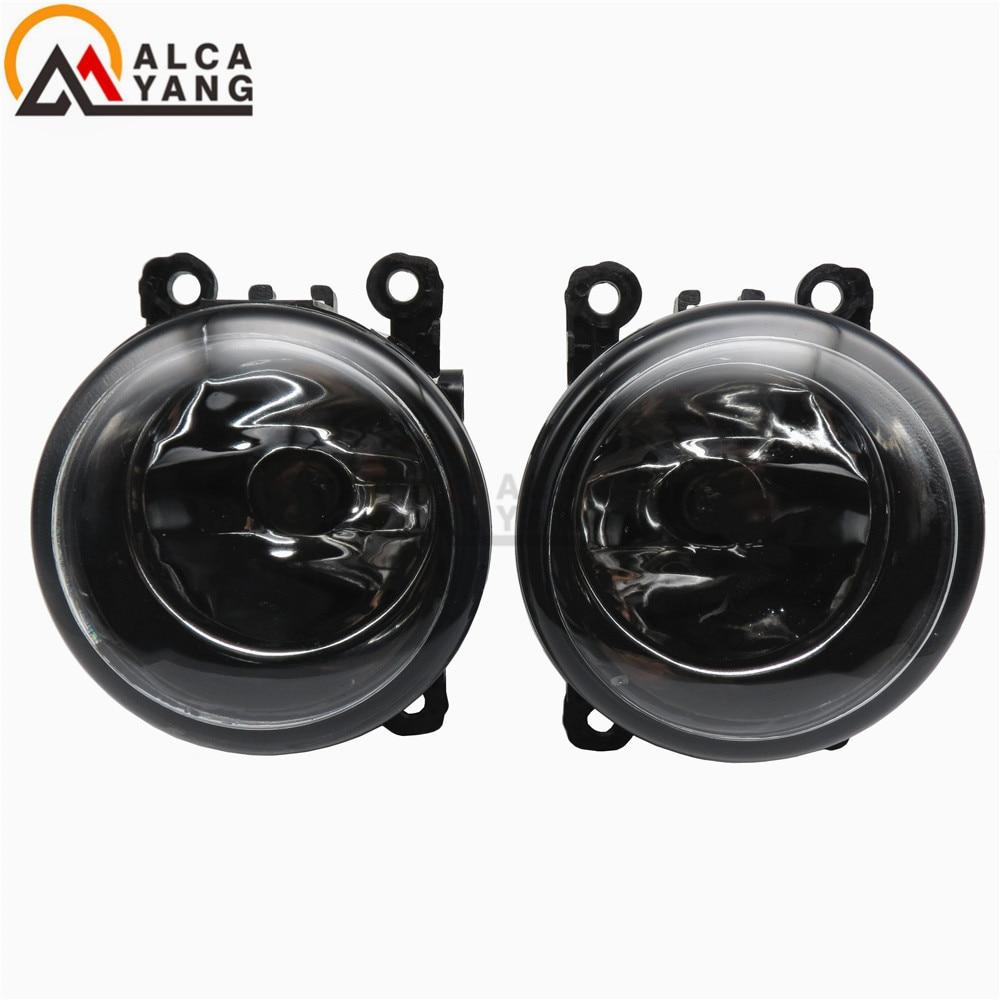 Malcayang 6000K For Renault SCENIC 2 2003-2015 Front Fog Lamps Fog Lights  Halogen LED Car Styling 1 SET 35500-63J02 8200074008