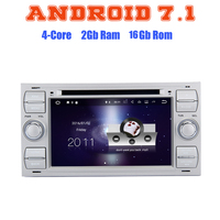 Android 7 1 Quad Core Car Dvd Gps Player For Ford Focus Mondeo C MAX With