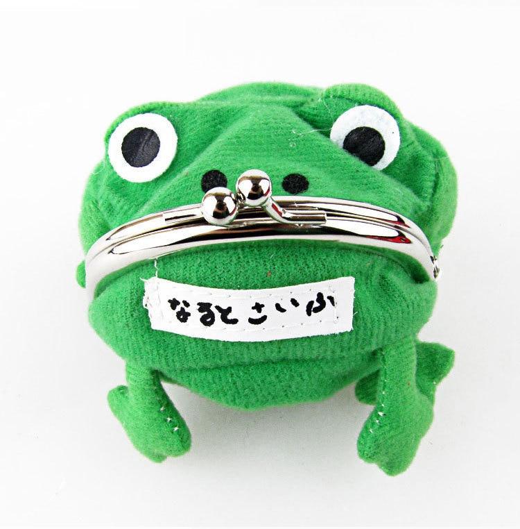 2016 Anime Cartoon Wallet Coin Purse Originality Fashion Frog Wallet Manga Flannel Wallet Cheap Cute Purse Naruto Purse