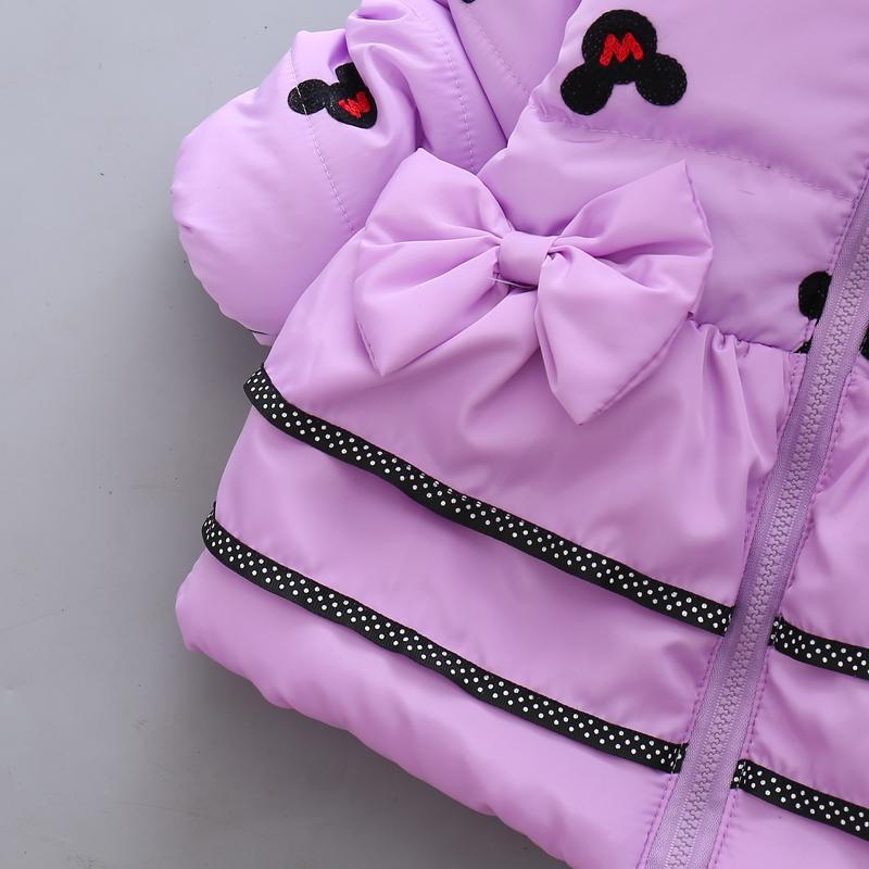 LZH Baby Girls Jacket 19 Autumn Winter Jacket For Girls Coat Kids Warm Hooded Outerwear Coat For Girls Clothes Children Jacket 16