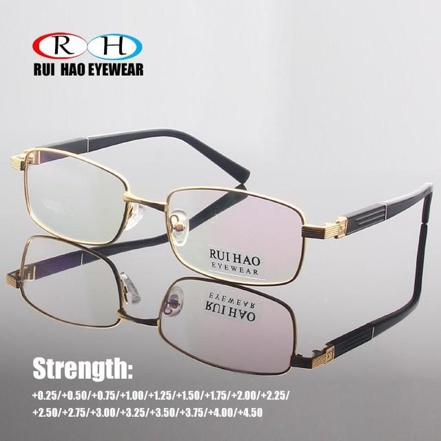 943f27b7db Rui Hao Eyewear Reading Eyeglasses Clear Presbyopic Glasses Optical  Spectacles Frame Anti-reflection Coating CR39 Resin Lens