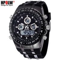 Men's Luxury Analog Digital Quartz Watch New Brand HPOLW Casual Watch Men G Style Waterproof Sports Military Shock Watches