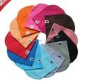 1 шт., Бесплатная доставка 22 цветов в розницу ребенок весной шляпу сплошной цвет шляпа крышкой для детей новорожденных девочек мальчиков шапочки