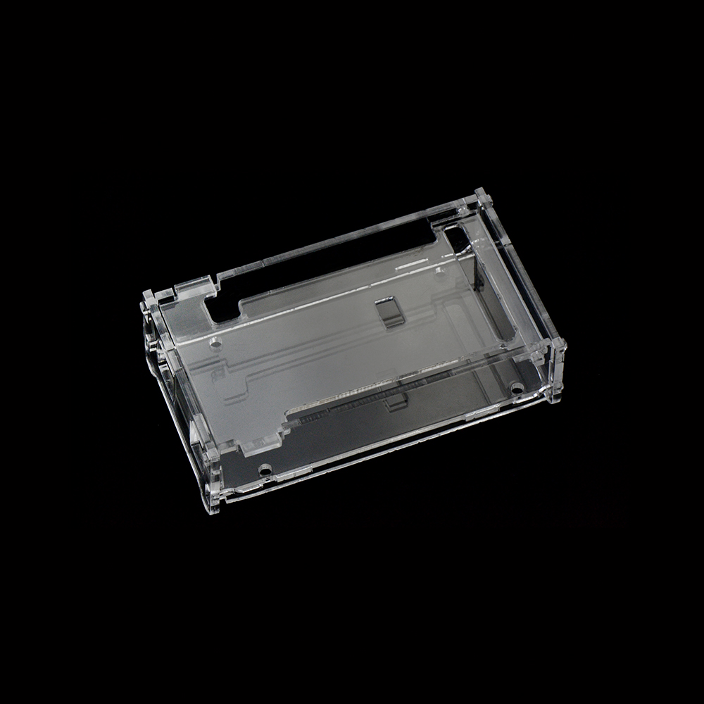 Hi-Q Keyestudio Enclosure Transparent Clear Acrylic Box Compatible For Arduino Mega 2560 R3 Case